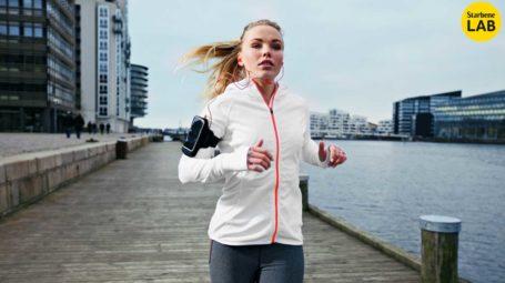 corsa, runner, giacca