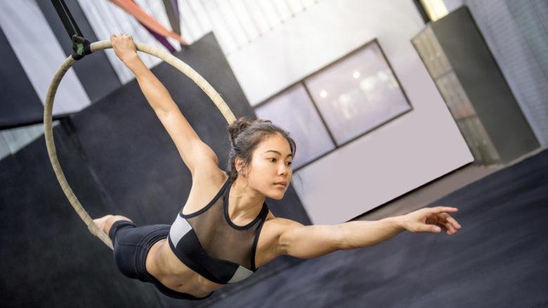Ginnastica acrobatica aerea: come imparare e dove praticarla