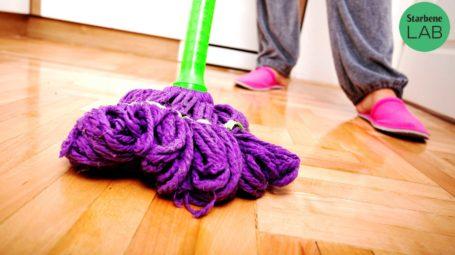 lavare pavimenti, parquet