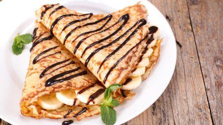Ricette vegane: le crêpes alla banana