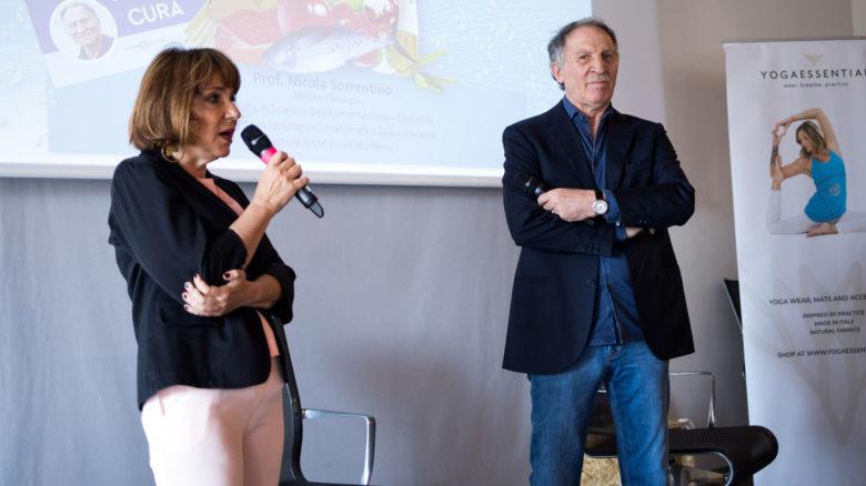 Il dietologo Nicola Sorrentino intervistato da Rossella Briganti sulla dieta dell'acqua