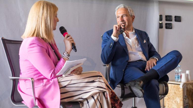 Il senologo Paolo Veronesi, dell'Ieo, intervistato da Flora Casalinuovo sulla prevenzione dei tumori