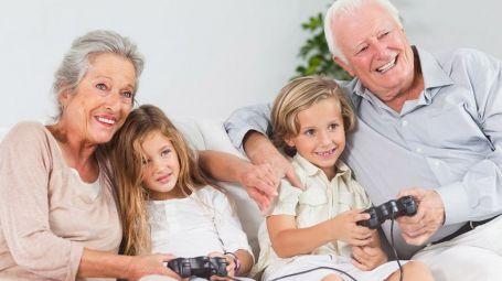 nonni, nipoti, videogiochi