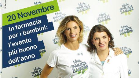 Solidarietà: 2050 farmacie per Fondazione Francesca Rava