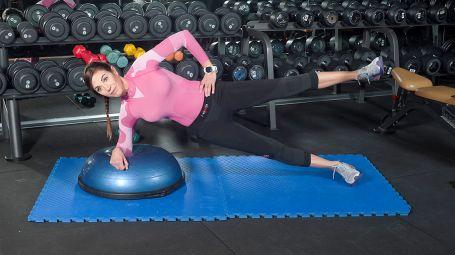Il workout con il bosu che ti aiuta a correre meglio