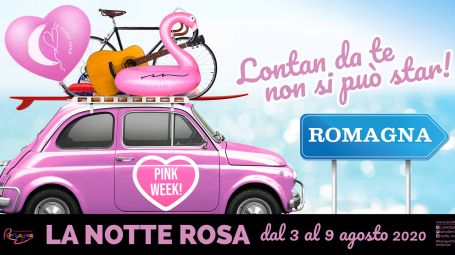 Pink Week 2020, in Romagna una lunga Notte Rosa