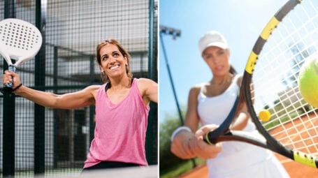 Tennis e padel: campo, colpi, racchette. Ecco le differenze