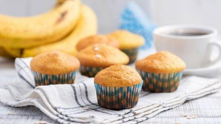 Ricette vegane: muffin alla banana