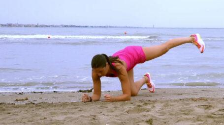 Culotte de cheval, interno coscia: gli esercizi in spiaggia - Video