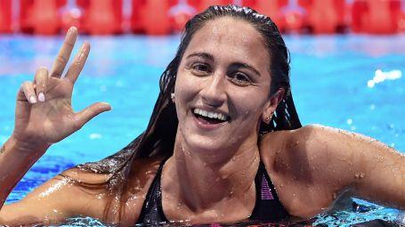 Simona Quadarella, campionessa di nuoto: si torna in gara