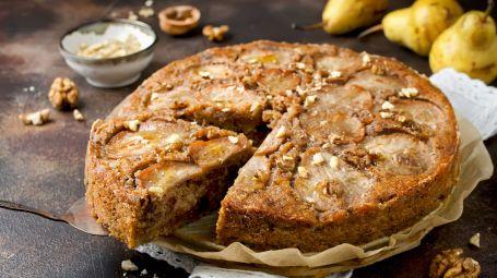 Ricette vegane: la torta di pere e cannella